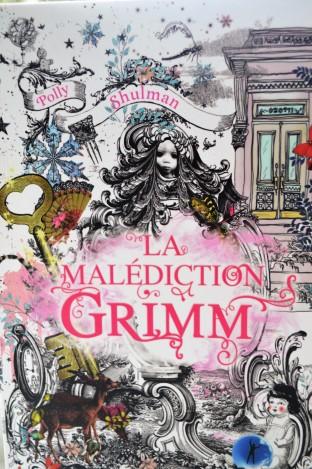 La malédiction Grimm : couverture